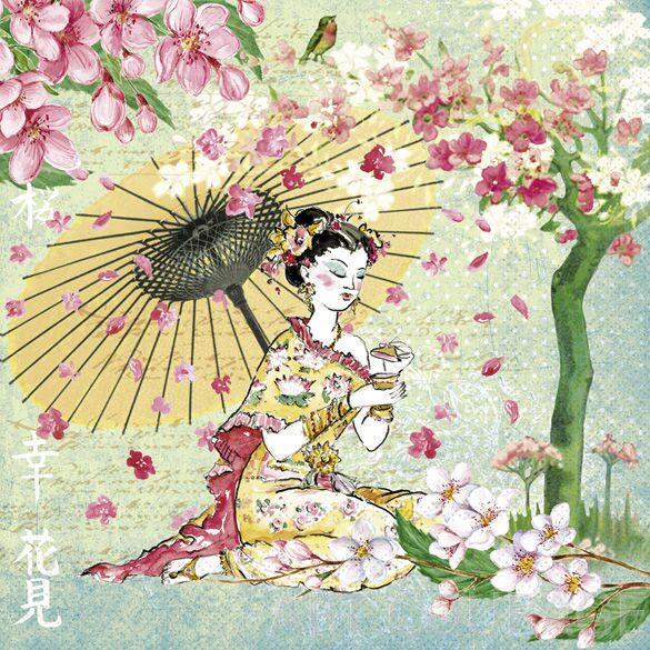 Картинки для декупажа японская